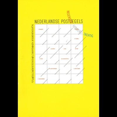 NIEDERLANDE: Nederlandse Postzegels (1980)