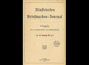 Gebr. Senf: Illustriertes Briefmarken-Journal, Jg. 1919