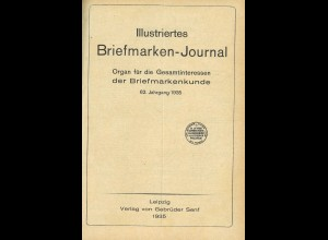 Gebr. Senf: Illustriertes Briefmarken-Journal, Jg. 1935