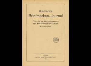 Gebr. Senf: Illustriertes Briefmarken-Journal, Jg. 1934