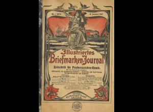 Gebr. Senf: Illustriertes Briefmarken-Journal, Jg. 1917 (Broschur)