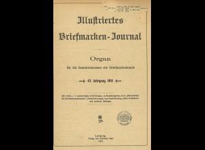 Gebr. Senf: Illustriertes Briefmarken-Journal, Jg. 1918 (Broschur)