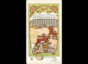 ÖSTERREICH: Postbüchel 1906 - Einzelheft