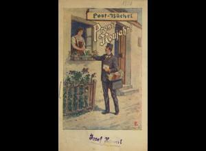 ÖSTERREICH: Postbüchel 1920 - 2 verschiedene