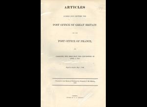 Staats-/Postvertrag zwischen England und Frankreich (3. April 1843/1. Mai 1843)