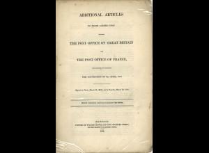 Staats-/Postvertrag zwischen England und Frankreich (1846)