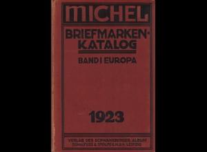 MICHEL Europa 1923