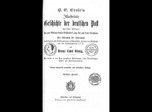 Crole's Illustrirte Geschichte der deutschen Post ... (1900)