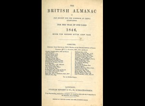 British Almanach of the Society for the diffusion of useful knowledge for ...