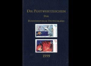 Die Postwertzeichen der Bundesrepublik Deutschland (1999–2002)