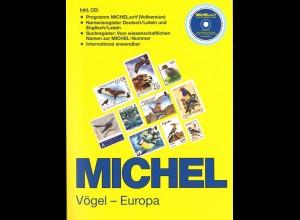 MICHEL Vögel - Europa + Ergänzungen 2011 + CDs