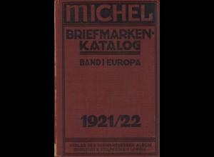 MICHEL Europa 1921/22