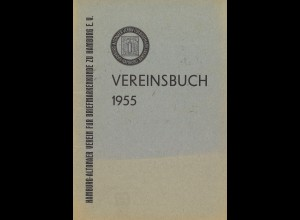 Vereinsbuch 1955 des Hamburg-Altonaer BSV