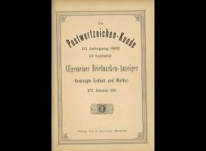 Die Postwertzeichen-Kunde (1892)