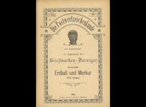 Die Postwertzeichen-Kunde (1894)