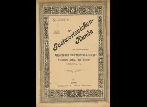 Die Postwertzeichen-Kunde (1893)