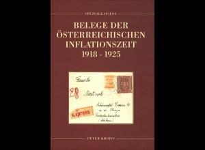 Peter Kroiss: Belege der Österreichischen Inflationszeit 1918–1925 (2008)