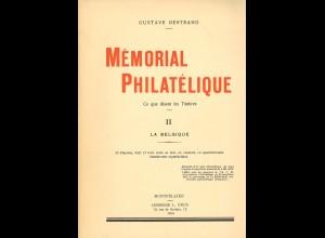 Gustave Bertrand: Mémorial Philatélique (1932–1934)