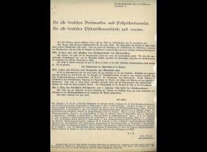 Reichsbund der Philatelisten (ca. Dezember 1935)