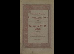 Nederlandsche Vereeniging van Postzegelverzamelaars: Jahrboek No. 14 (1904)