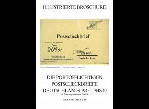 J. Vetter,: Die portopflichtigen Postscheckbriefe Deutschlands 1945-1948/49