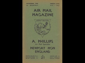 A. Phillips: Air Mail Magazine (auw 1939–1944)