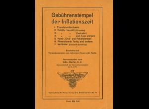 Johannes Nawrocki: Gebührenstempel der Inflationszeit (1940)