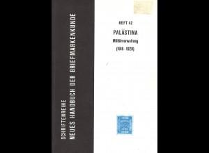 Dr. Werner Hoexter: Palästina. Militärverwaltung (1918–1920)