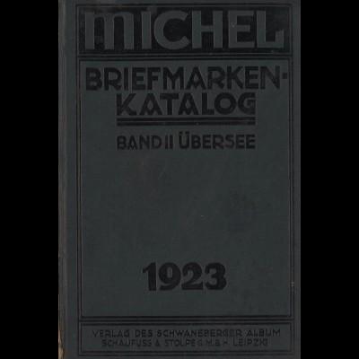 MICHEL Übersee-Katalog 1923