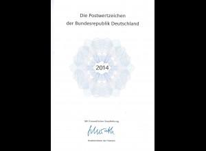Die Postwertzeichen der Bundesrepublik Deutschland 2014. Jahrbuch der DP