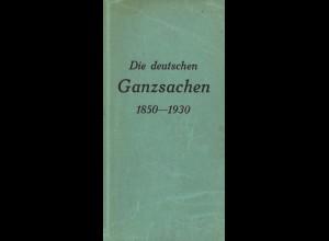 Dr. S. Ascher/ Th. /Junker: Die deutschen Ganzsachen 1850–1930