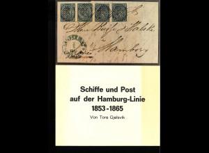 Tore Gjelsvik: Schiffe und Post auf der Hamburg-Linie 1853–1865 (1985)