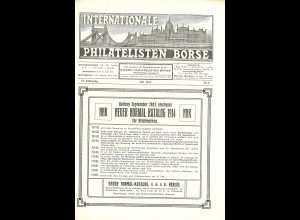 Internationale Philatelisten-Börse (1912/13)