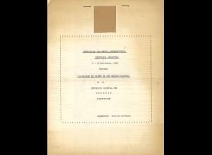 URUGUAY: Variedades de Diseno de los sellos Classicos. (1950)