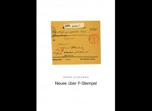Bruno Jatzkowski: Neues über F-Stempel 1864–1880