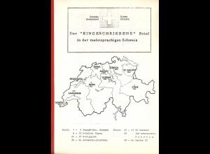 """Der """"Eingeschriebene"""" Brief in der mehrsprachigen Schweiz"""