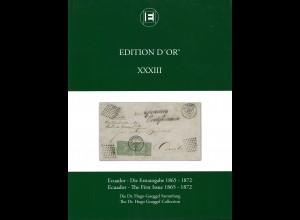 Ecuador – Die Erstausgabe 1865–1872. Die Dr. Hugo Goeggel Sammlung (2012)