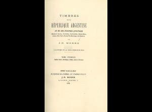 J.-B. Moens: Timbres de la République Argentine et de ses diverses provinces