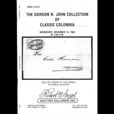 Kolumbien/Colombia etc.: 15 auction ctalogues / 15 Auktionskataloge