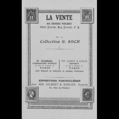 Altdeutschland / German States: Boker auction catalogues H. Köehler, H. Schwenn