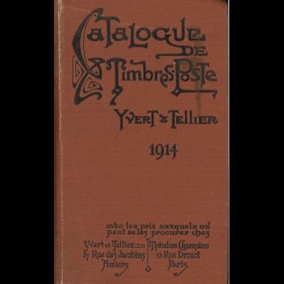 Yvert & Telliers: Catalogue Prix Courant de Timbre-Poste 1914