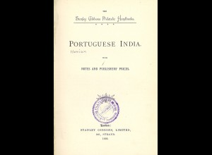 Stanley Gibbons Ltd.Portuguese India with Notes and Publisher's Prices (1893)