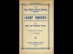 Saint Vincent with Notes and Publisher's Prices (1895)