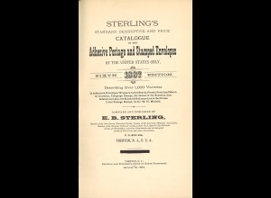 Catalogue of the Adhesive Postage and Stamped Envelopes of the United States (1887) ...