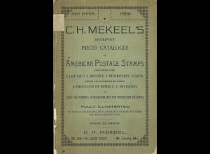 C.H. Mekeel	Descriptive Priced Catalogue of American Postage Stamps (1889)