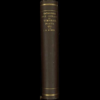 J.-B. MoensCatalogue Prix-Courant de Timbres-Poste, 6. Auflage, 1883