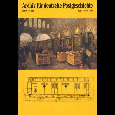 Harry Miosga: 130 Jahre Bahnpost in Deutschland (1980)