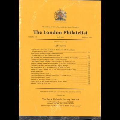 The LONDON PHILATELIST (Sammel-Lot aus den Jahren 2007–2020)