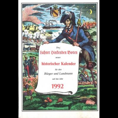 Des Lahrer Hinkenden Boten neuer historischer Kalender (1992)