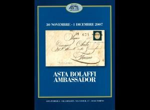 BOLAFFI: Auktionskatalog vom 30.11.2007/1.12.2007